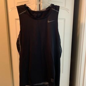 Nike pro combat compression tank top